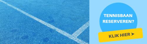 Tennisbaan reserveren