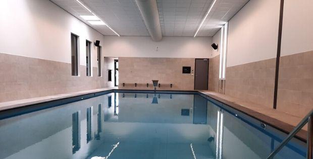 Nieuw zwembad Arendse Oosterhout